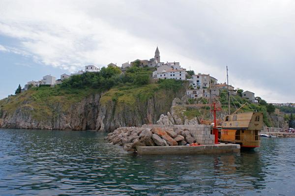 Crikvenica, Chorvatsko a výlety lodí na Krk